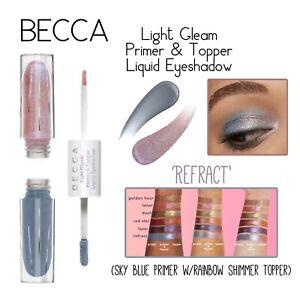 BECCA Cosmetics Light Gleam Primer & Topper Liquid Eyeshadow-Refract
