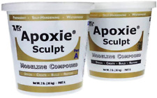 NEW Apoxie Sculpt 4 Lb. Epoxy Clay Natural by Aves FREE SHIPPING