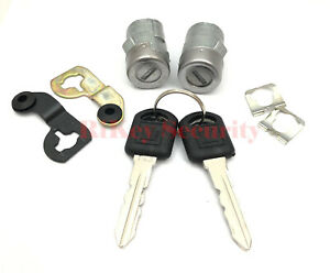 Replacement Door Lock Cylinder Set Left Driver Side And Right Passenger For GM