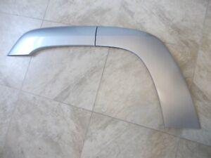 Chevy Trailblazer RH Pass Rear Fender Flare Trim 03 04 05 Used OEM Silver 2pc