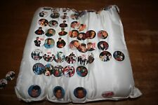 New Kids on the Block Nkotb Pillow 50 Pins 2 Magnets