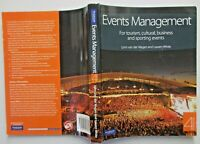 EVENTS MANAGEMENT for Tourism Cultural Business Sporting Events  2010