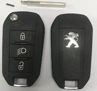 ORIGINAL Clé Télécommande Complète Peugeot 208 * 2008 *308 * 508 *ID46 * 434mhz