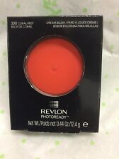 Revlon Photoready Cream Blush #300 Coral Reef Full Size NEW.