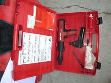 Hilti DX 351  Powder Actuated Tool, mx32 & f8 two attachment COMBO kit NICE (849