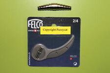 Felco Ersatz Gegenklinge 2/4 für Felco 2 + 1 x  Feder Gartenschere, Baumschere