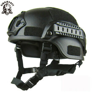 Airsoft Tactical Miliary MICH 2000 Action Military Tactical Helmet Combat Riding