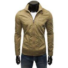 Cappotti e giacche da uomo beigi con cappucci m