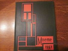 1967 Rutgers University College of South Jersey Mneme Yearbook - Perfect!