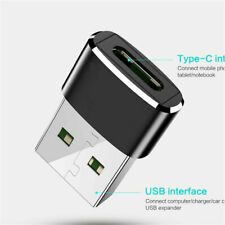 USB 3.0 (Type-A) Male to USB3.1 (Type-C)Female Connector Converter Alloy Adapter