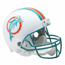 MIAMI DOLPHINS 80-96 THROWBACK NFL FULL SIZE REPLICA FOOTBALL HELMET