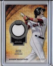 Andrew Benintendi # 248/331 Patch Card 2017 Topps Tier One