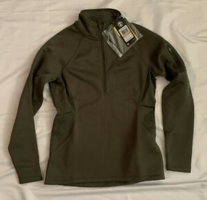 Under Armour Women's TAC Coldgear Infrared 1/4 Zip Jacket 1271619-330 Small NWT
