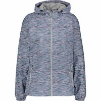 NEW BALANCE Women's Spacedye Hooded Windbreaker Jacket, size MEDIUM