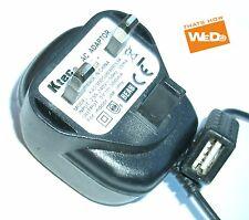 Ktec AC ADAPTER KA23D050030033K 5V 300mA UK PLUG