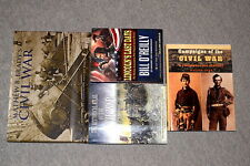 LOT of 4 CIVIL WAR ERA BOOKS MATTHEW BRADY O'REILLY LINCOLN HIST ATLAS CAMPAIGNS