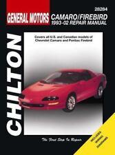 Chilton's Total Car Care: General Motors Camaro/Firebird : 1993-02 Repair Manual