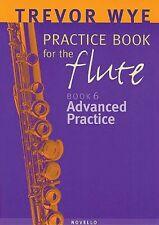 Trevor Wye Practice Book for the Flute Volume 6 - Advanced Practice Bo 014036443