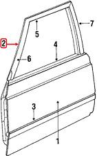 NOS Chrysler OEM Front Left or Right Door Weatherstrip 04415259 LEBARON