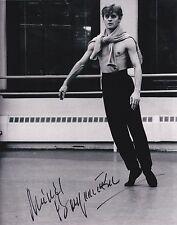 Mikhail Baryshnikov + + Autograph + + Михаил Николаевич барышников