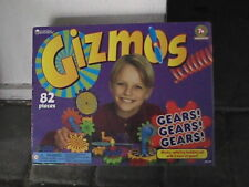 GIZMOS GEARS! GEARS! GEARS! BUILDING SET NEW AND SEALED 82 PIECES 7+