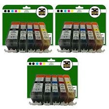 15 Ink Cartridges for Canon Pixma MG5150 MG5200 MG5250 MG5320 non-OEM 525-526
