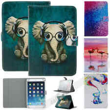 """For 7"""" inch Tablet Universal Animal Printed Folio Stand Flip Leather Case Cover"""