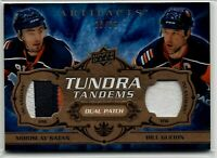 08-09 UD Artifacts Satan Guerin NY New York Islanders SP /35 Dual Patch Jersey !