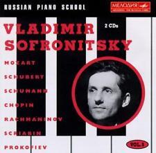 Sofronitsky Vladimir-Russian Piano School Vol.5 (UK IMPORT) CD NEW