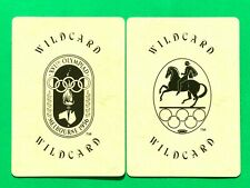 2 Olympic Games Centennial Collection Wild Card Jokers Single Swap Playing Cards