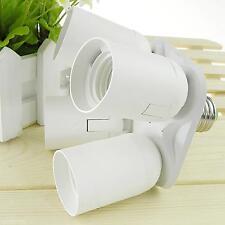 4 in 1 E27-Buchse Splitter Adapter-Studio-Foto-Licht-Lampe Unterhalterkopf