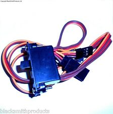 8104 RC On Off Switch w Spare Male Plug Lead 3 Pin JR