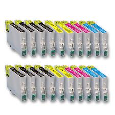 20 Druckerpatronen für Epson Stylus DX7400 DX7450 S20