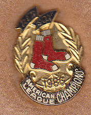 1986 Boston Red Sox World Series Press Pin RARE