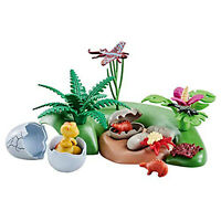 Playmobil Dino Babies With Nest Building Set 6597 NEW IN STOCK