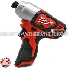 """Milwaukee 2462-20 12V M12 1/4"""" Hex Impact Driver Tool Only"""