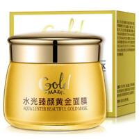 Luster Gold Mask Face Skin Care Face Masks Moisturizing Oil Control Natural Crea