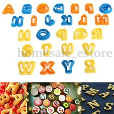26 Letters Alphabet Cake Cookie Biscuit Cutter Sugarcraft Fondant Baking Mold