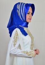 DRP46 Draperie Chiffon Fertig Kopftuch Hazir Türban Sal Tesettür Hijab Khimar