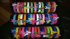 Stretch rubber bracelets for charity St. John's Hospice