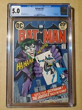 Batman 251 cgc 5.0 (1973) Neal Adams bronze age key!