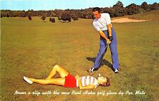 Crystal River FL Paul Hahn Golf Trick Shot Gloves Advertising Postcard