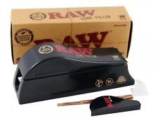 RAW Cone Shooter Filler King Size Rolling Machine Smoking Papers Cones