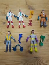 Lot Of 5 Ghostbusters Kenner Fright Features Action Figures 1989 w/ some ghosts