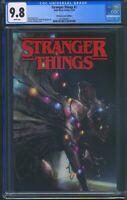 Stranger Things 1 (Dark Horse) CGC 9.8 White Pages Francesco Mattina Variant
