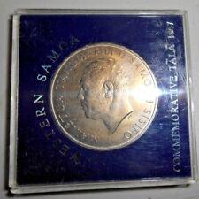 1967 WESTERN SAMOA ROYAL $1 COIN 39mm Cased