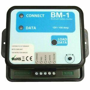 NASA Marine BM1 BT 12 Bluetooth Battery Monitor Instrument -12V  Boats & Marine