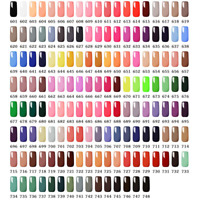 MTSSII 148 Colorful Series UV Gel Soak Off Nail Polish UV LED Lacquer Manicure