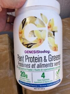 Genesis Today Plant Protein & Greens Vegan Superfood - Vanilla Smoothie - 17.4oz
