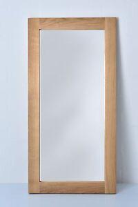Spiegel aus Massivholz